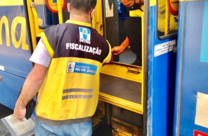 Ônibus lideram ranking de multas aplicadas pelo Detro-RJ em agosto