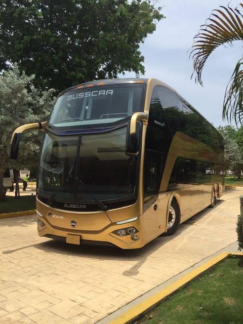 Busscar de Colombia lança o Busstar DD S1