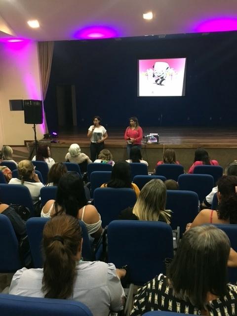 Rozimar Firmino do Sest convidou as colaboradoras do Grupo A. Cândido para participarem do Circuito
