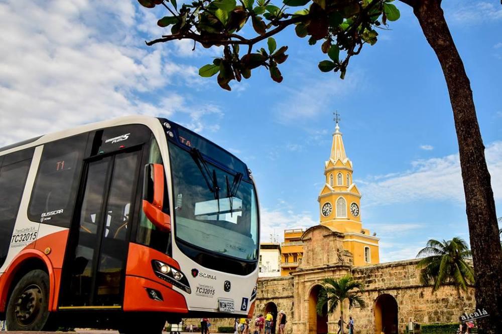 Colômbia inicia transporte público sustentável