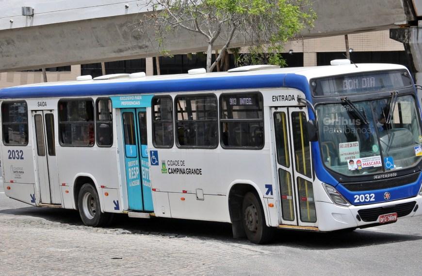 Empresas de ônibus de Campina Grande parcelam pagamento salarial