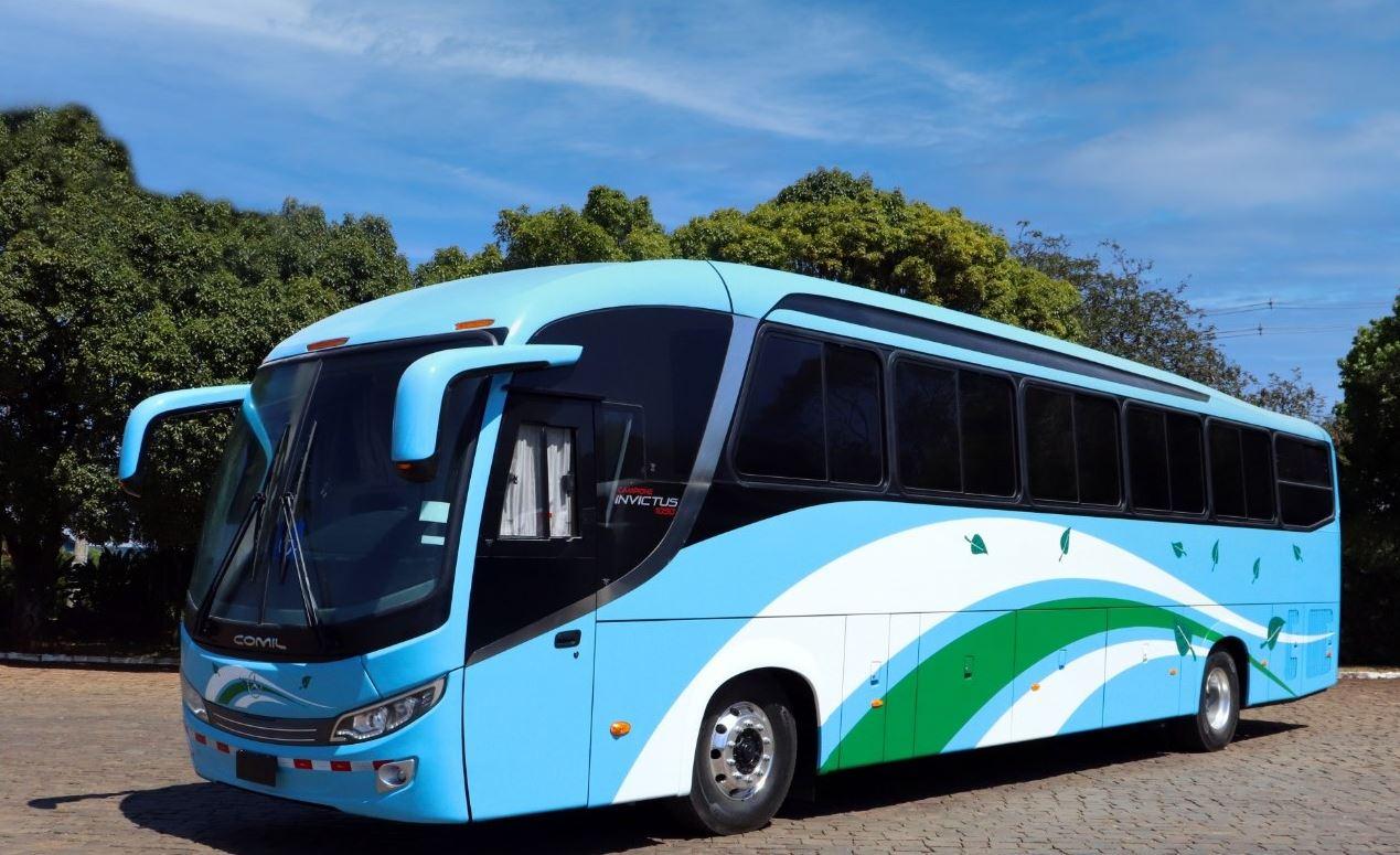 Mercedes-Benz e Comil apresentam ônibus rodoviário para Costa Rica