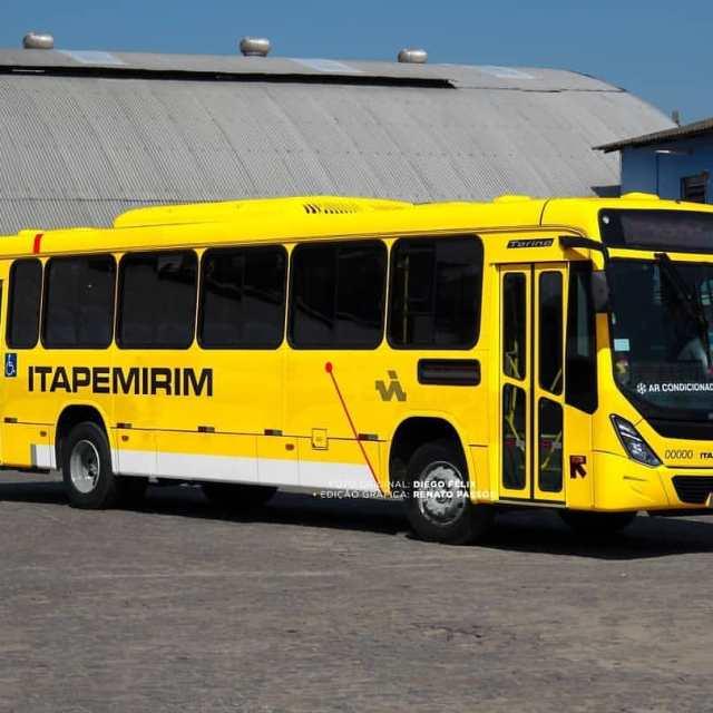 Como ficariam os ônibus urbanos da Itapemirim?