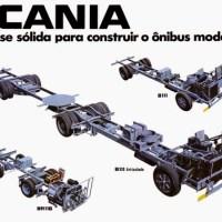 Chassi para ônibus Scania: Do B75 ao K440 - Parte 1