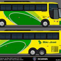 Busscar Jum Buss 360 - Viação São José 0832