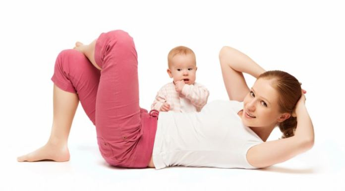 Weight loss after birth