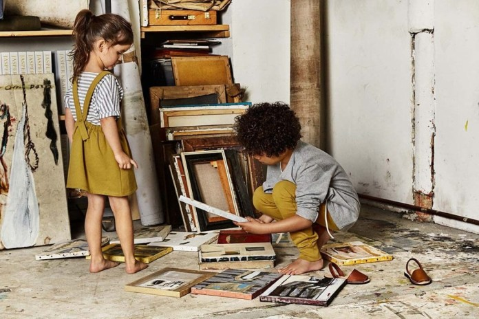 These are the most beautiful brands for minimalist children's fashion #kindermode #kidswear #minimalism #sustainable