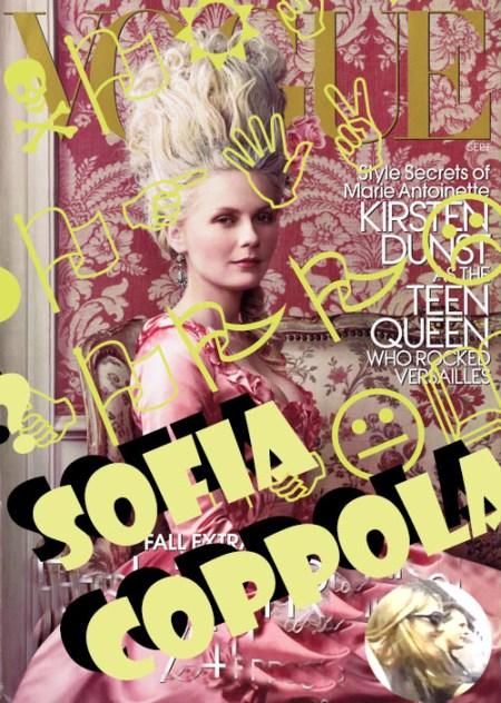 Sofia Copola, Kristen Dunst by A. Leibovitz