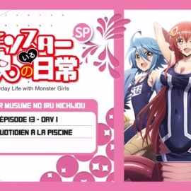 Monster Musume OAV 01 (EP13) – Le Quotidien à la Piscine