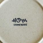 HOYA STONE WAREのお皿(今週末は中島公園のフリマですよ〜)