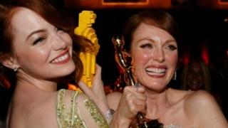 アカデミー賞で惜しくも受賞を逃した人にレゴのオスカー像が配られる!