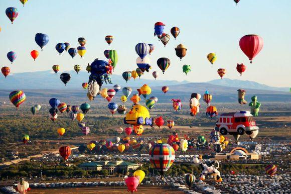 アルバカーキ国際気球フェスティバル アメリカ