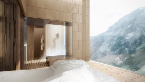 スイスのアルプスに全長381メートルの高級ホテルタワーが建設される計画が!