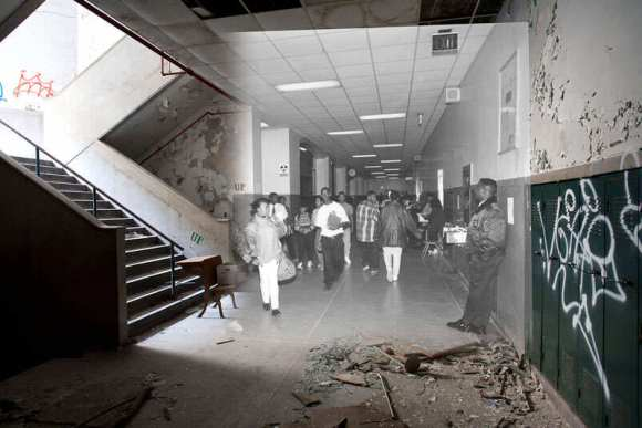 detroit-cass-tech-now-and-then-blended-photos-into-abandoned-school-building-detroit-urbex-12