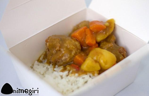 Curry japonais de boulette de porc
