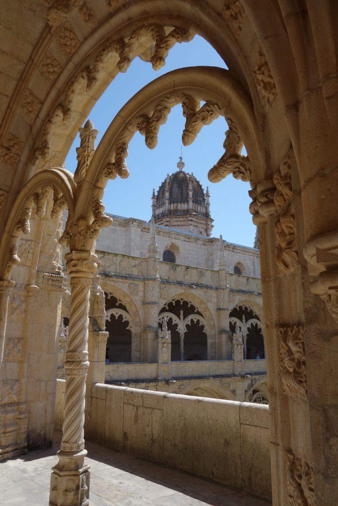 Le Mosteiro dos Jeronimos à Belem