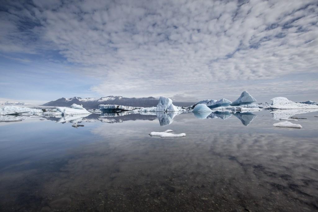 Le lac glaciaire Jokulsarlon
