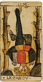 Not being able to move and the Hanged Man Tarot
