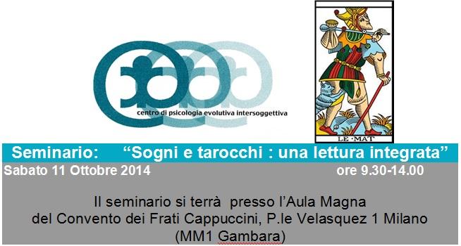 Invitation to seminar on dreams and Tarot symbolism