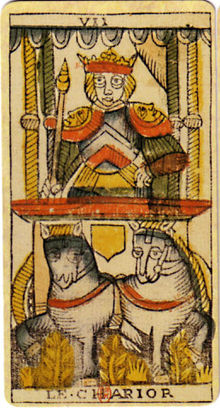 Active imagination with Tarot and the Chariot