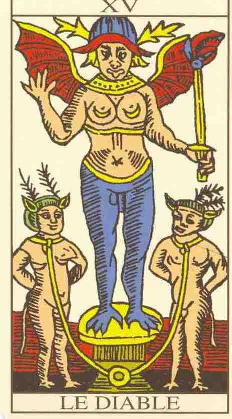 I tre personaggi del Diavolo