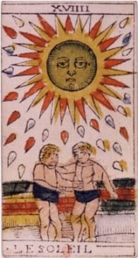 Sun Tarot card and jungian Animus