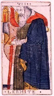 Symbolism of the Hermit Tarot card