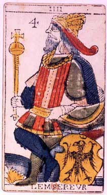 Jungian Animus in Tarot: the Emperor