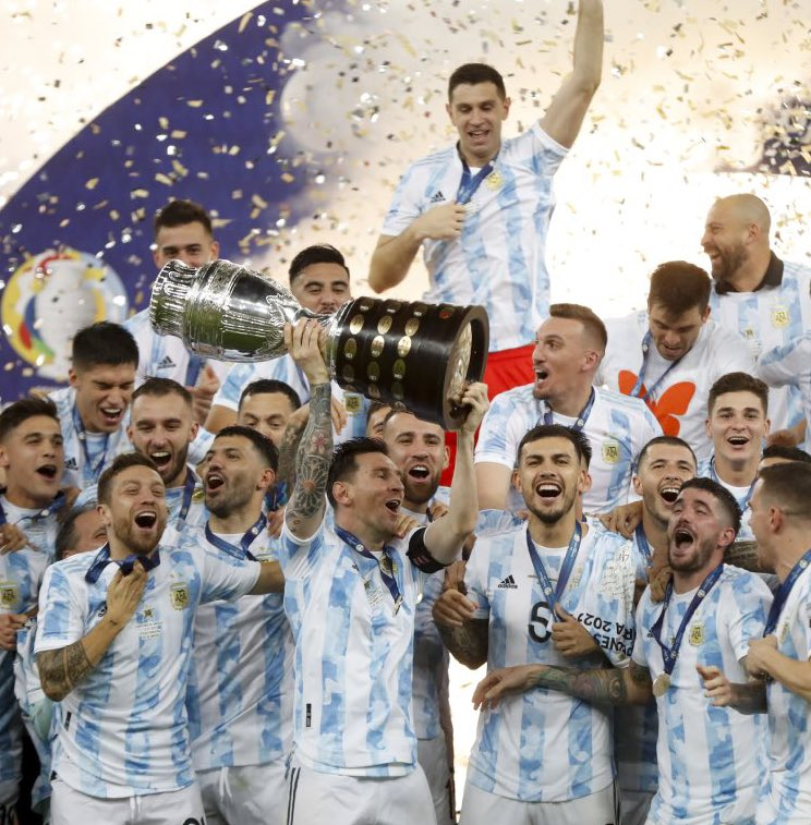Messi shines with Argentina in Copa America triumph