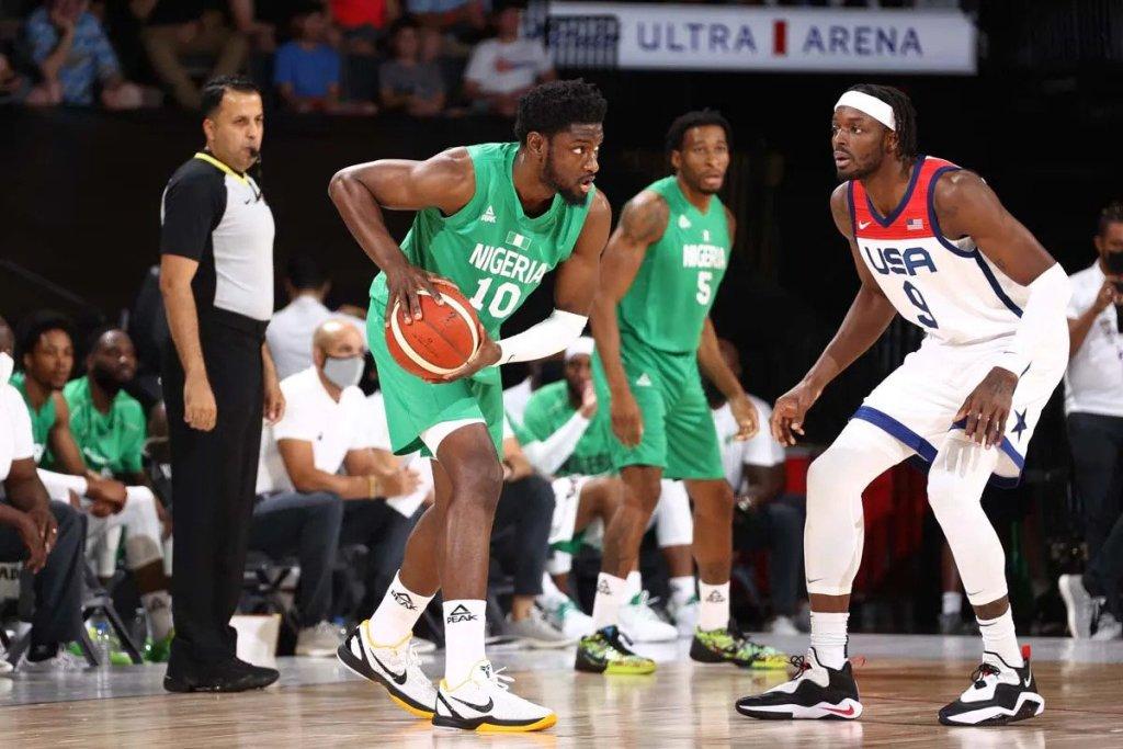 BASKETBALL: Nigeria stun Team USA with shock win in Las Vegas