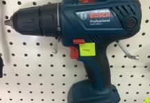Bosch Cordless Impact Drill dan Screwdriver