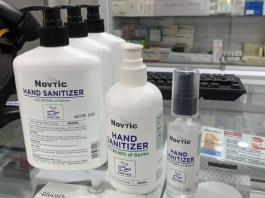 Harga terkini hand Sanitizer