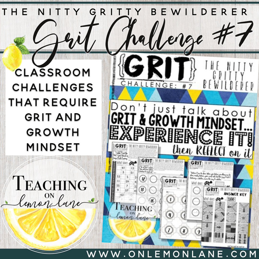 Grit Worksheet Grit Activity Growth Mindset Activities