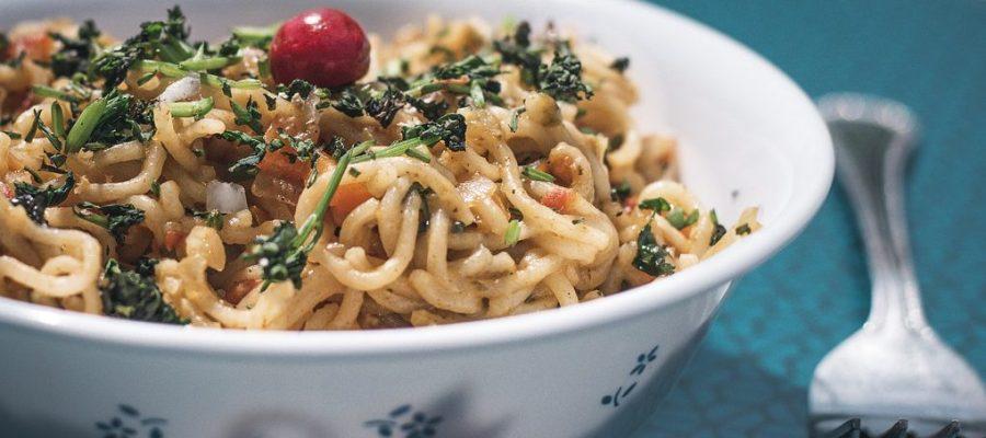Noodles Pasta Bowl Fork  - harshalsaraf8935 / Pixabay