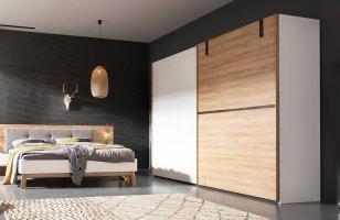 Nolte Schrank Cepina weiß/ Picea Pine mit Spiegel   Möbel Letz   Ihr Online Shop