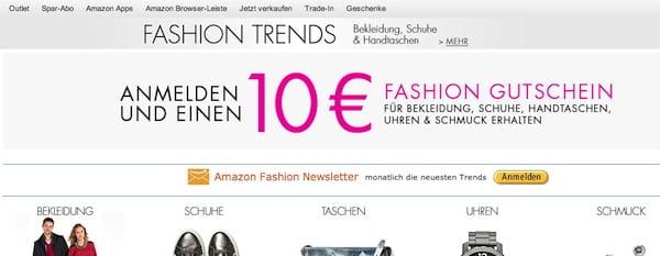 amazon fashion gutschein