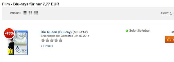buch de blu-ray 7,77 euro
