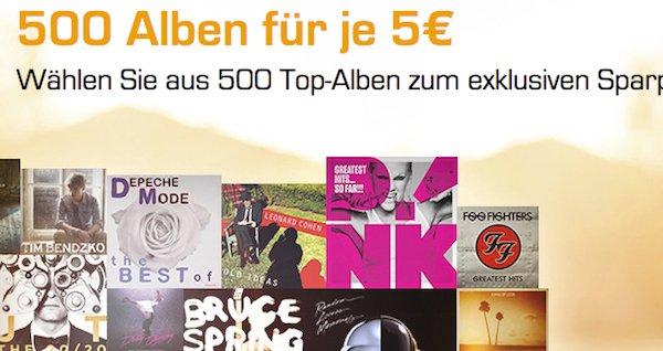 saturn 500 alben 5 euro