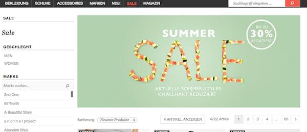frontlineshop summer sale