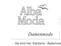 buy online 2f4c4 1449c Alba Moda: 20 Prozent Rabatt auf Beach- und Badewear