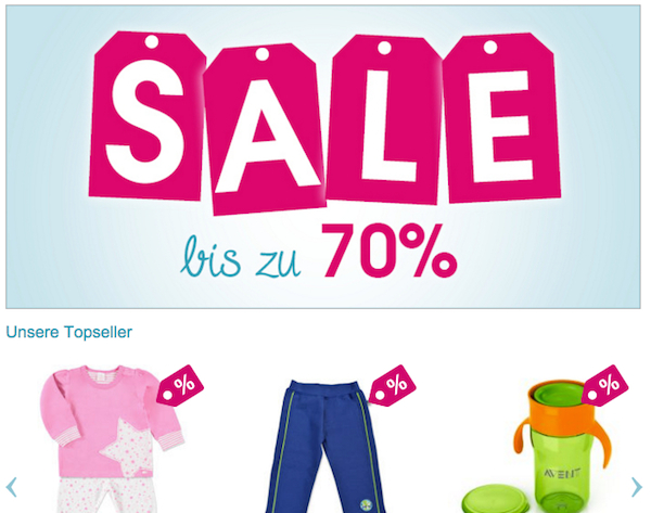 babymarkt at sale 70 prozent rabatt