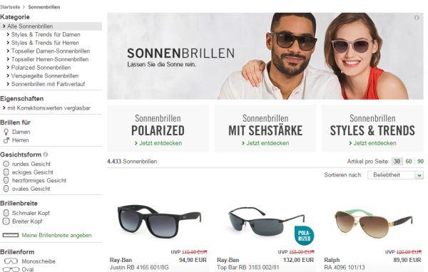 mister spex 10 prozent gutschein sonnenbrillen
