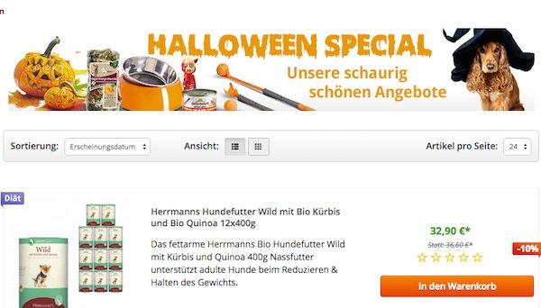 zooroyal rabatt halloween special