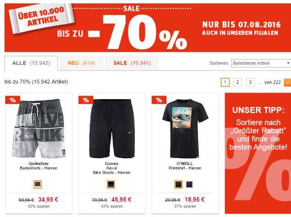 sportscheck sale 70 prozent rabatt