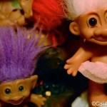 A fad: Troll Dolls