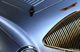 Details of a beutiful car