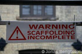 Scaffolding-incomplete