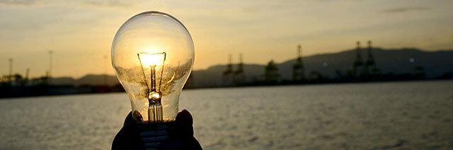 Sustainability-image-light-bulb-at-sunset