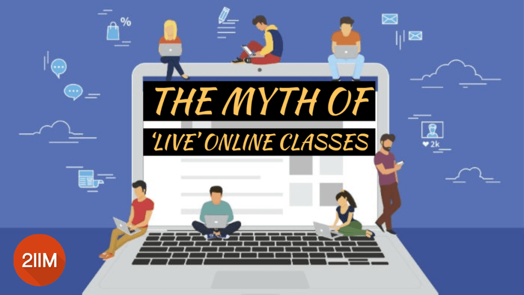 The Myth of Live Online Classes