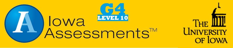 Grade 4 Iowa Assessments